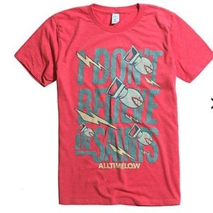 All Time Low band tee T-shirt size medium NWT